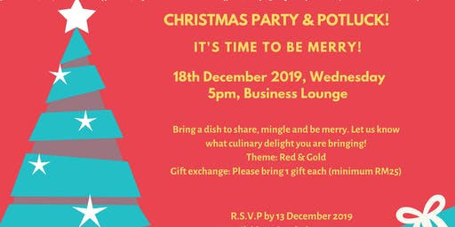 Christmas Party & Potluck