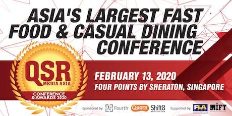QSR Media Asia Conference & Awards 2020 tickets