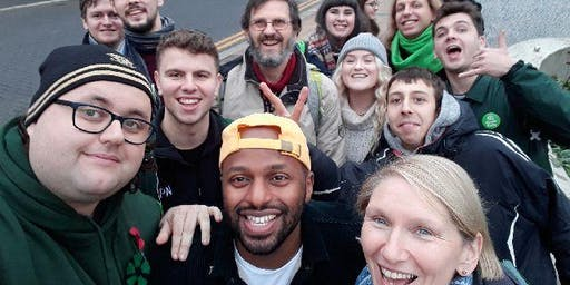 Sheffield Green Party General Election Action Day City Centre