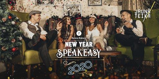 New Year in Riga - SPEAKEASY 2020 | Новый Год в Риге - SPEAKEASY 2020