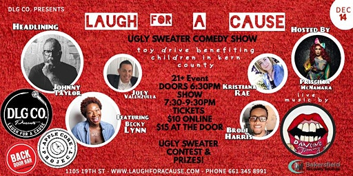 Laugh For A Cause: Comedy Toy Drive