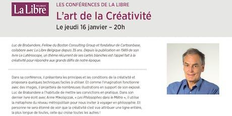 """Conférence """"L'art de la créativité"""" tickets"""