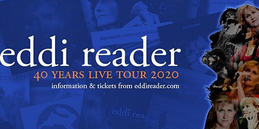 Eddi Reader 40 Years Live Tour.