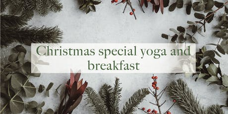 Yoga and vegan breakfast Christmas special tickets