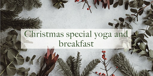 Yoga and vegan breakfast Christmas special SOLD OUT