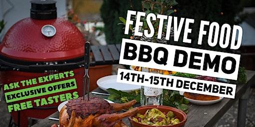 Weber BBQ festive BBQ Demo