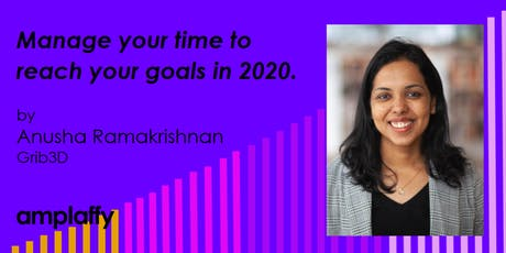 amplaffy36: - Manage your time to reach your goals in 2020. tickets