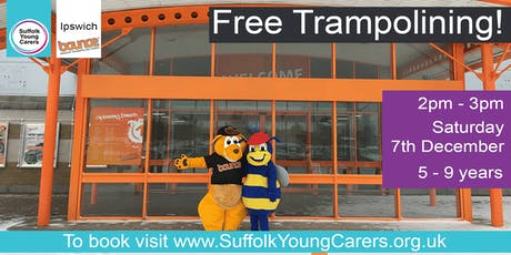 Young Carers Trampolining Ages 5-9 tickets