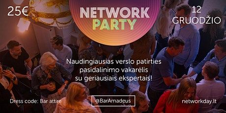 Network Party tickets
