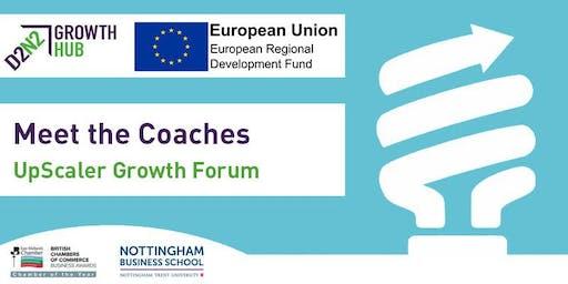 Meet the Coaches - UpScaler Growth Forum
