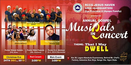 Annual Gospel Musicals in Concert - That I May DWELL tickets