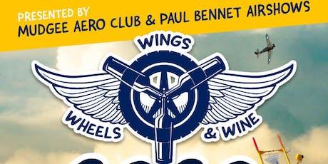 Mudgee Wings Wheels & Wine 2020 tickets
