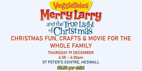 Christmas family fun & Movie tickets