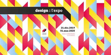 Vernissage Design L'Expo billets