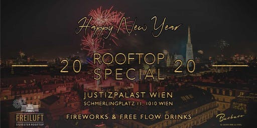 Silvester Rooftop Special - Justizpalast