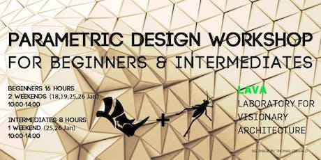 Parametric Design Workshop (Rhino + Grasshopper) LAVA Berlin tickets