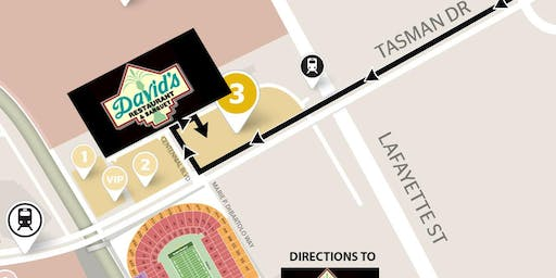 DAVID'S GAMEDAY (Includes Parking) 49ers VS Rams -Dec 21st- YELLOW LOT