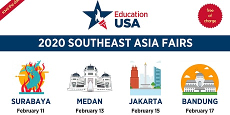 EducationUSA U.S Higher Education Fair 2020 (Medan) tickets