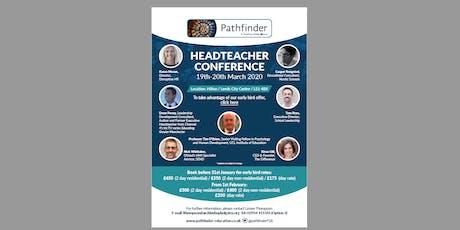 Headteacher Conference 2020 tickets