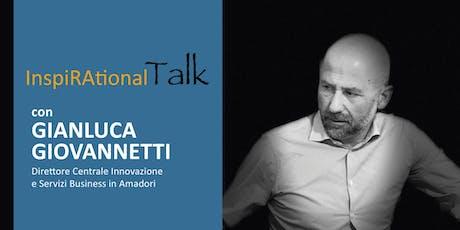 L'intelligenza ama i problemi - Inspirational Talk con Gianluca Giovannetti biglietti