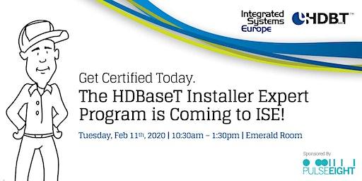 HDBaseT INSTALLER EXPERT PROGRAM at ISE 2020