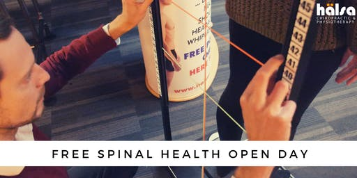 FREE Spinal Health & Posture Check Open Day
