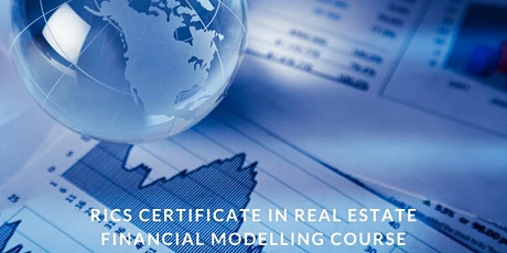 RICS Certificate in Real Estate Financial Modelling tickets