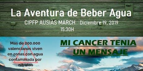 """La Aventura de Beber Agua """"Mi cáncer tenía un mensaje"""" entradas"""