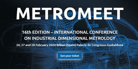 Metromeet | International Conference on Industrial Dimensional Metrology entradas