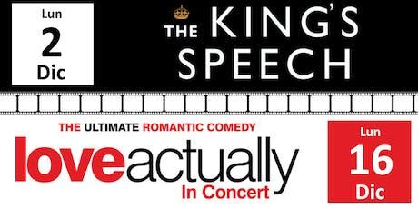 Movie Night #2 The King's Speech - Movie Night #3 Love Actually biglietti
