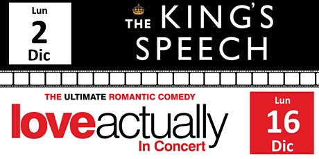 Movie Night #2 The King's Speech - Movie Night #3 Love Actually biglietti