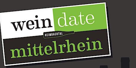 wein date mittelrhein Tickets