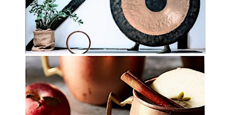 Gong Bath by Candlelight || Spiced Hot Apple Juice & Festive Bites tickets