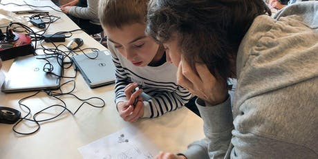 NewTechKids 2020 Voorjaarsvakantie Computer Science & Maker Education Bootcamp for 8-12 Yrs: 5 daily workshops (Feb. 17-21, 2020) tickets