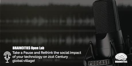 Braincities Open Lab - Podcast, Berlin tickets