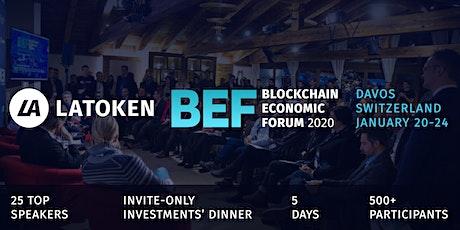 LATOKEN Blockchain Economic Forum in Davos, Switzerland tickets