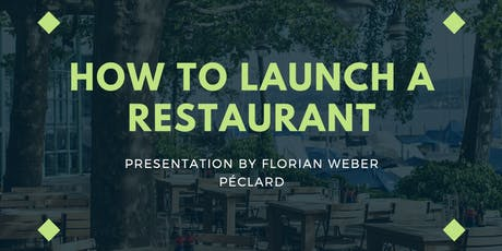 How To Launch A Restaurant tickets