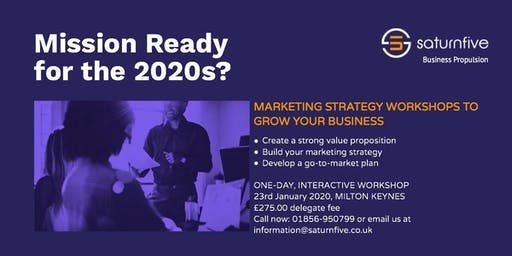 Marketing Strategy Workshop for SMEs
