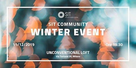 SIT COMMUNITY WINTER EVENT 2019 biglietti