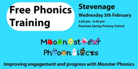 STEVENAGE PHONICS TRAINING at Peartree Spring Primary tickets