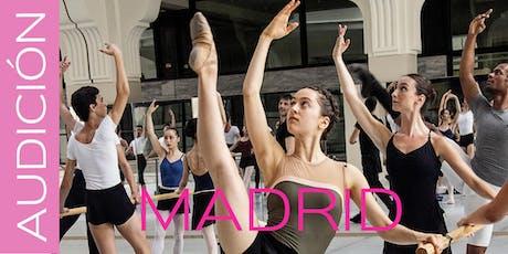 MASTERCLASS AUDICIÓN VALENCIA ENDANZA 2020 - AUDICIÓN MADRID 12 DE ENERO DE 2020 entradas