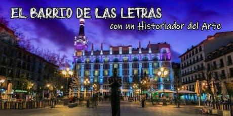 Free Tour- El Barrio de las Letras con un Historiador del Arte entradas