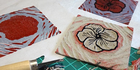 Reduction-Cut Relief Printmaking tickets