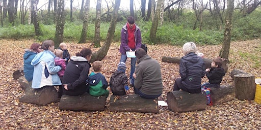Nature Tots at Brandon Marsh - Woodland Treasure Hunt ( Sponsored by PPL)