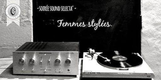 Soirée Sound Sélecta - Femmes stylées