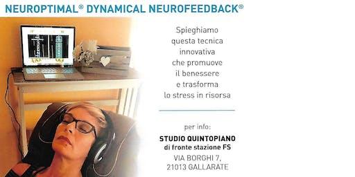 Vieni a conoscere Neuroptimal® Dynamical Neurofeedback