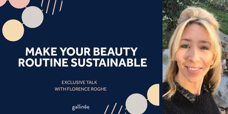 How to make your beauty routine sustainable tickets