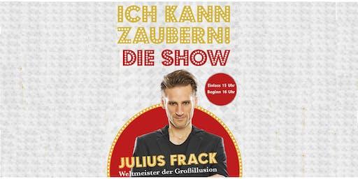 Julius Frack - Ich kann zaubern! - Die interaktive Mitmachshow