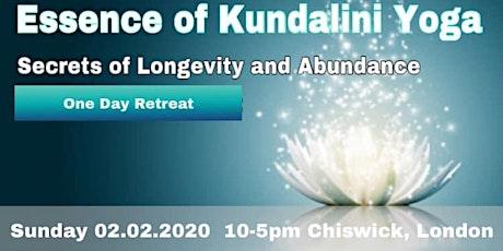 ESSENCE OF LIFE - One day kundalini yoga retreat tickets
