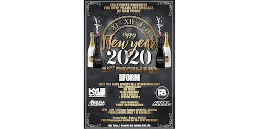 LTR (Love To Rave) Events Presents NYE At Bar Form!